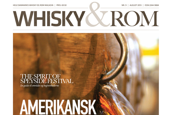 Whisky & Rom Magasinet august