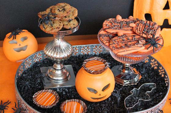 Kager udklædt til Halloween