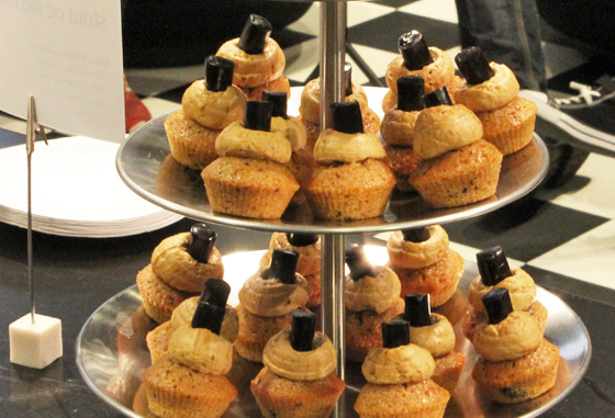 Lakridscupcakes med stout, sød lakrids og lakridsfrosting