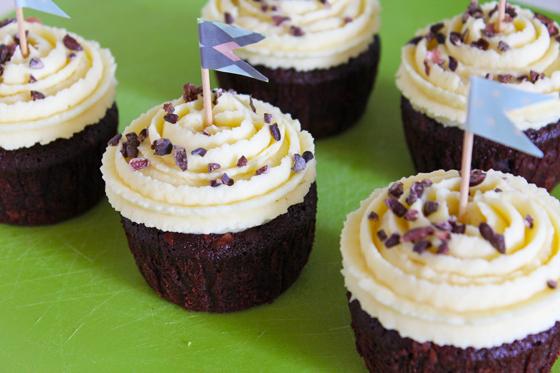 Chokoladecupcakes